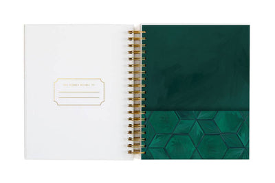 One Canoe Two - 2020 Large Ambrose Floral Weekly Agenda Planner Jan-Dec 2020