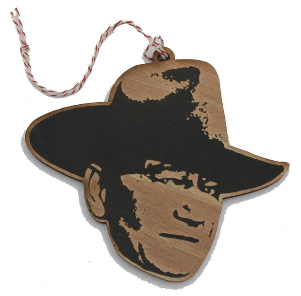 LetterCraft - John Wayne Ornament