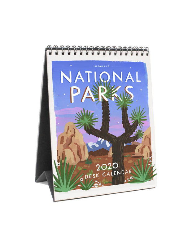 Idlewild: National Parks 2020 Desk Calendar