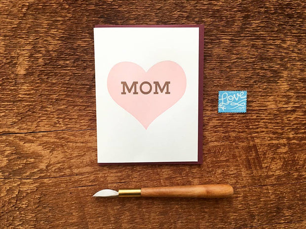 Noteworthy Paper & Press - Heart Mom Card