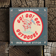 Good & Well Supply Co. - Go Go Go Outside Patch