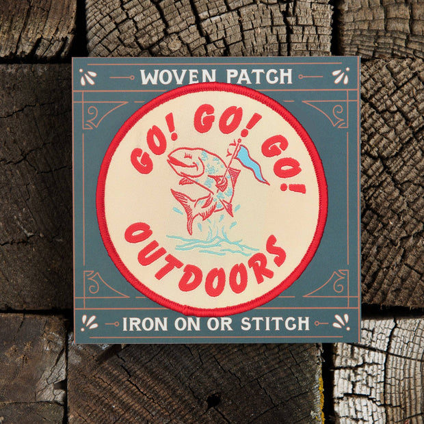 Good & Well Supply Co.: Go Go Go Outside Patch