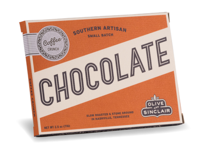 Olive & Sinclair Chocolate - Coffee Chocolate Bar