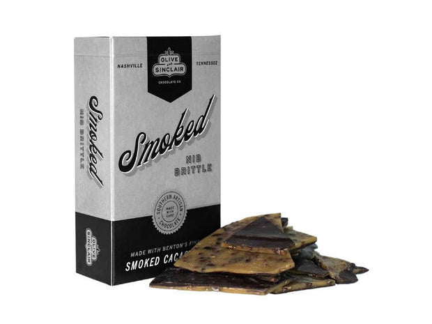 Olive & Sinclair Chocolate - Smoked Nib Brittle