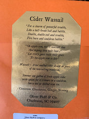 Oliver Pluff & Company: Witch's Brew Cider Spices Wassail - 1 Gallon Package