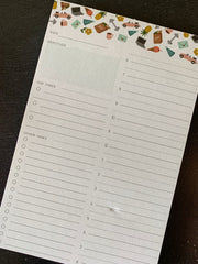 Slightly: Daily Planner Notepad