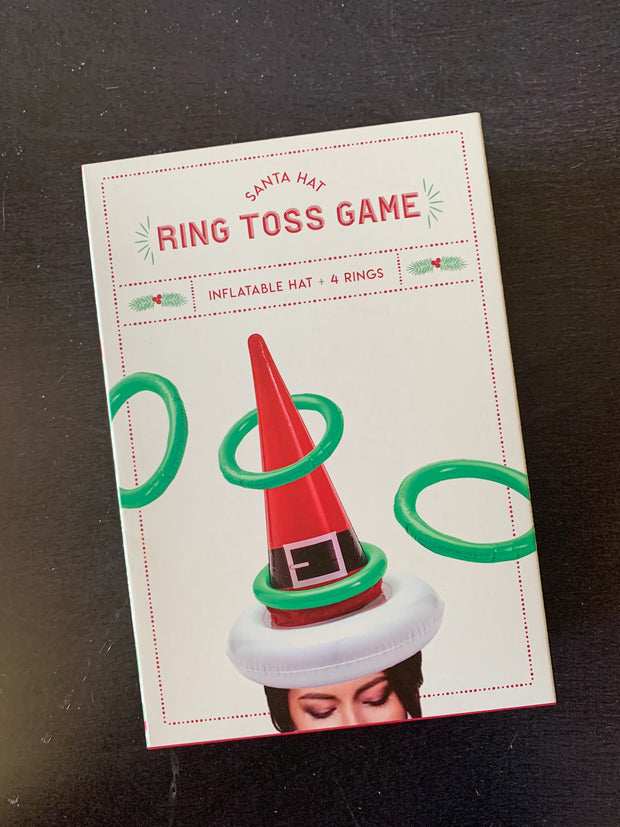 Santa Ring Toss Game