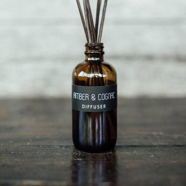 Wilder & Co: Amber and Cognac Diffuser