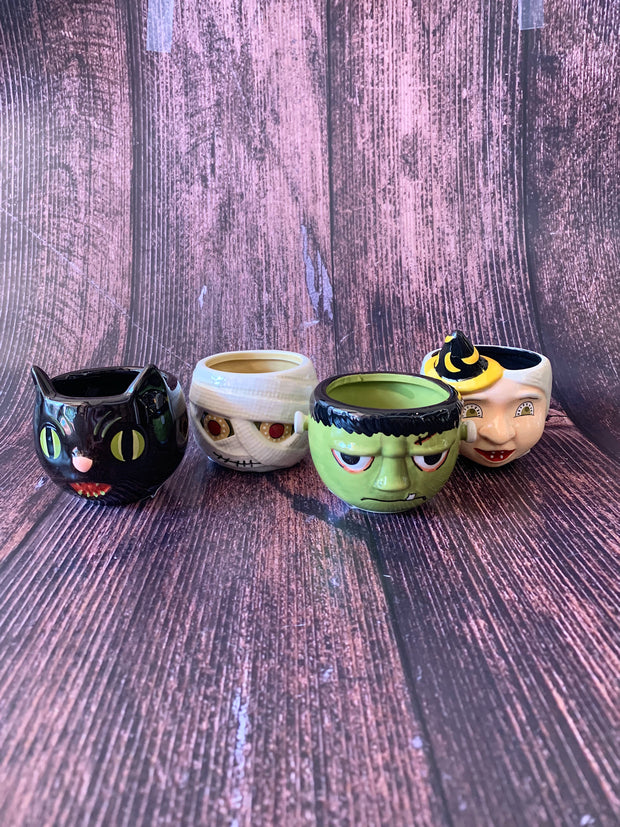 Halloween Character Cup