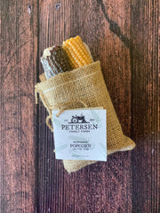 Petersen Family Farm: Popcorn on the Cob (Burlap)