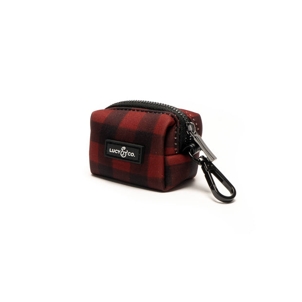Lucy & Co.: Buffalo Plaid Poop Bag Holder