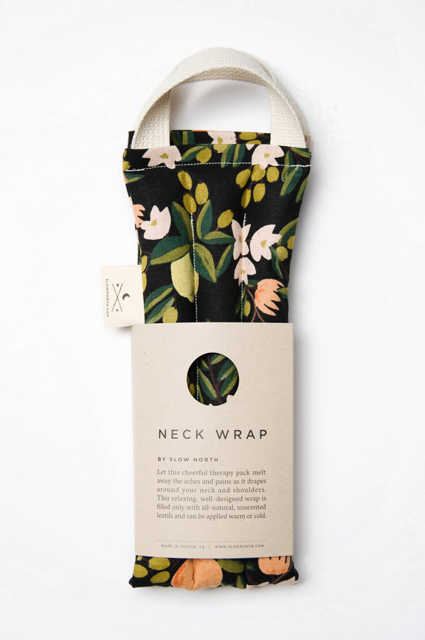 Slow North: Neck Wrap Therapy Pack - Citrus Floral