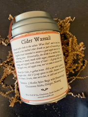 Oliver Pluff & Company: Cider Spices Wassail Kit