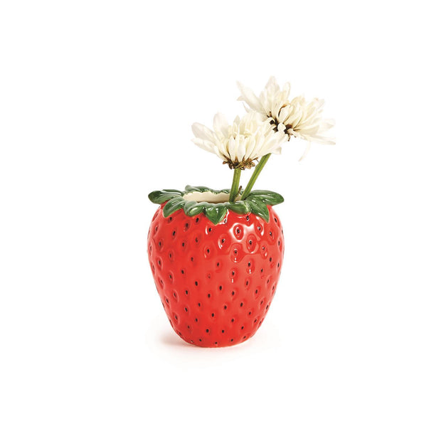 Fresh Picked Strawberry Bud Vase