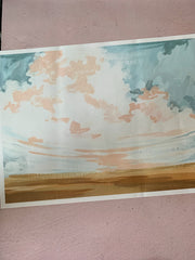 One Canoe Two: Landscape No. 3 Poster Print