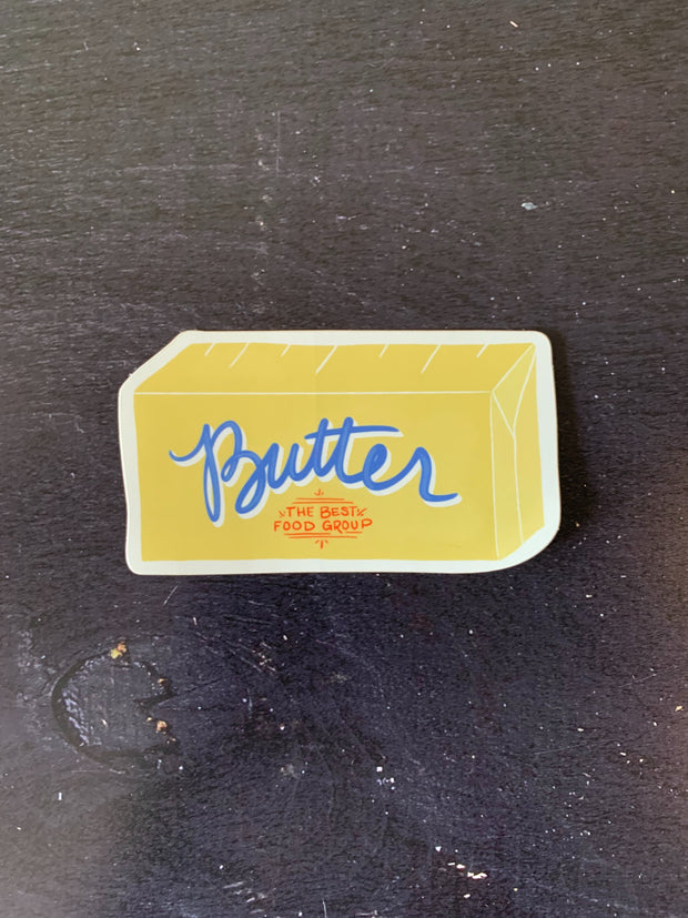 Slightly: Butter Sticker