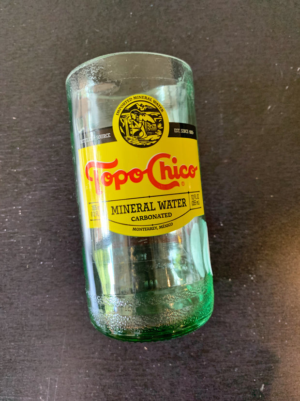 Texas UpCycle: Topo Chico Recycled Succulent Planters