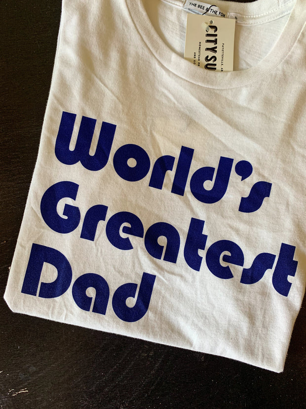The Bee & the Fox: World's Greatest Dad T-Shirt
