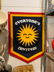 Oxford Pennant x Kelle Hampton: Everyone's Invited Camp Flag