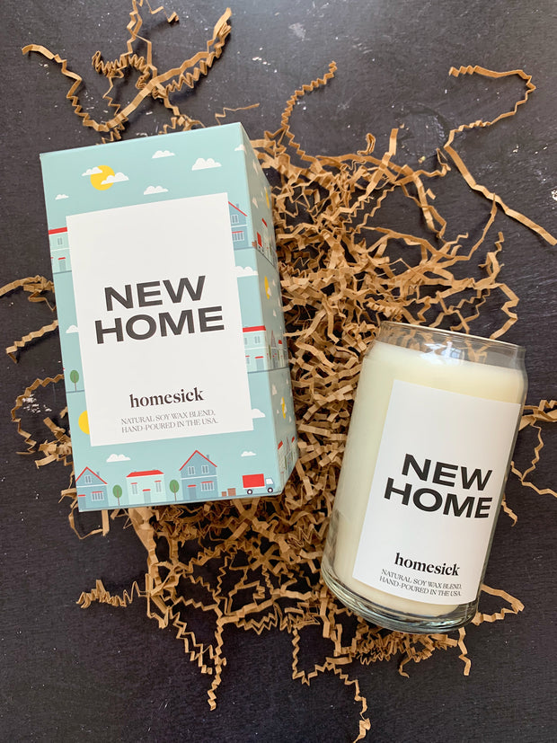 Homesick Candles: New Home Candle