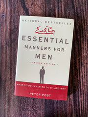 Emily Post's Essential Manners for Man
