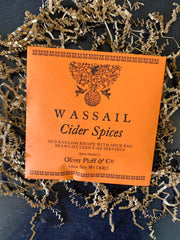 Oliver Pluff & Company: Cider Spices Wassail - 1 Gallon Package