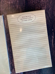 "Sugarboo & Co: 8.5""x10"" Notepad"