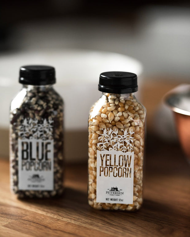 Petersen Family Farm: Farm Fresh Bottled Popcorn