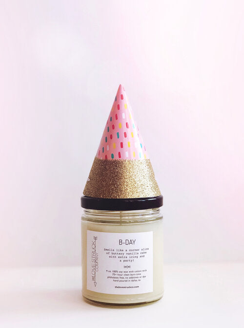 Lovestruck Co: B-day Candle