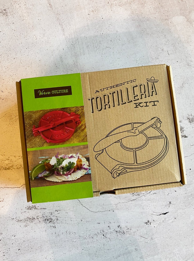 Cast Iron Tortilla Press Kit