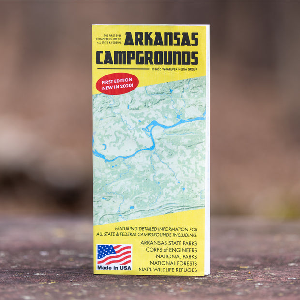 Arkansas Campgrounds map