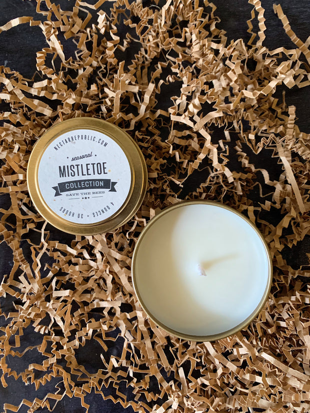 Travel Tin Candle - Mistletoe