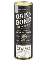 Oak & Bond: Bourbon Barrel-aged Coffee