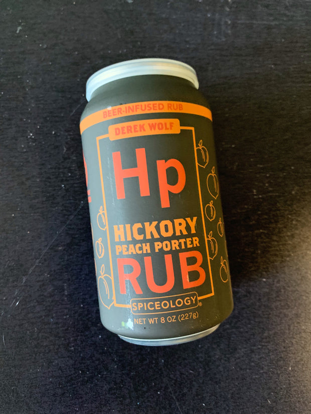 Spiceology: Beer Can - Hickory Peach Porter Rub