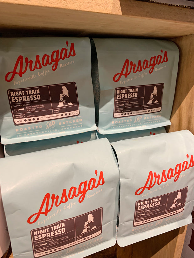 Arsaga's Coffee Roasters: Night Train Espresso