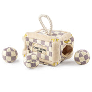 Checker Chewy Vuiton Trunk - Activity House Toy