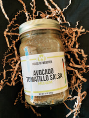 House of Webster: Avocado Tomatillo Salsa