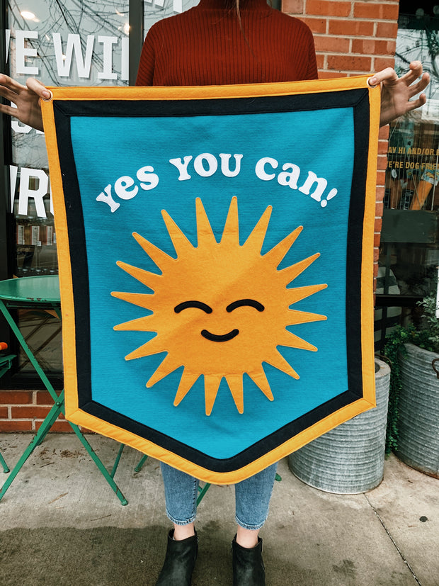 Oxford Pennant x Kelle Hampton: Yes You Can Sunshine Banner