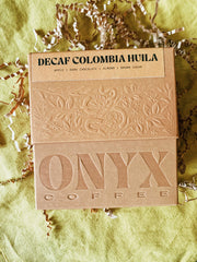 Onyx Coffee Lab: Decaf Columbia Huila