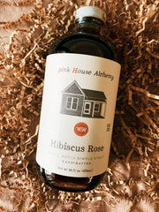 Pink House Alchemy: Hibiscus Rose Syrup