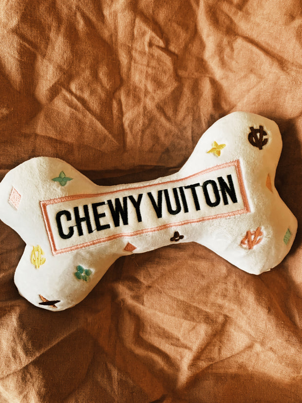 White Chewy Vuiton Bones - Extra Large