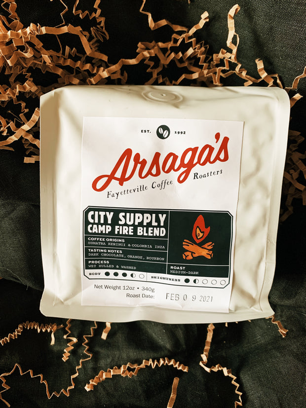 City Supply X Arsaga's Campfire Blend