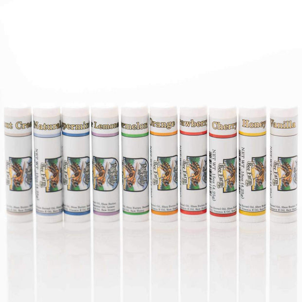 Natural Lip Balm (Assorted Flavors)