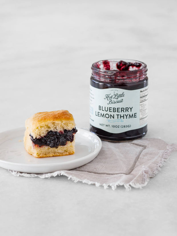 Callie's Charleston Biscuits: Blueberry Lemon Thyme Jam