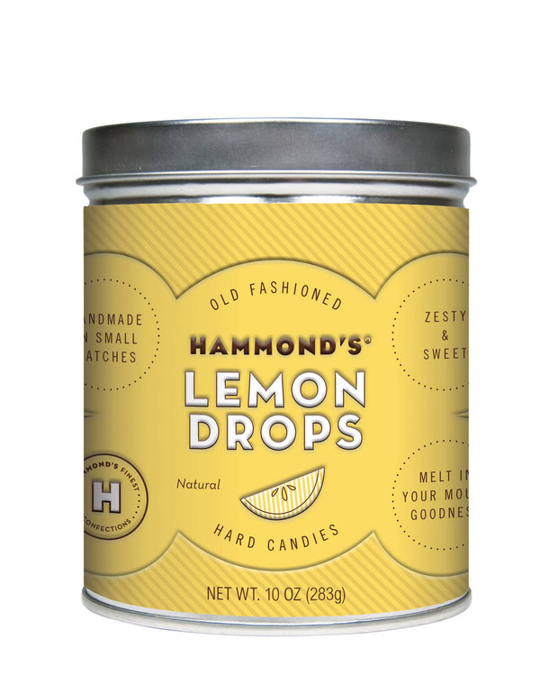 Hammond's Candies: Lemon Drops Tin