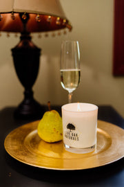 Live Oak Naturals: Champagne Pear Candle
