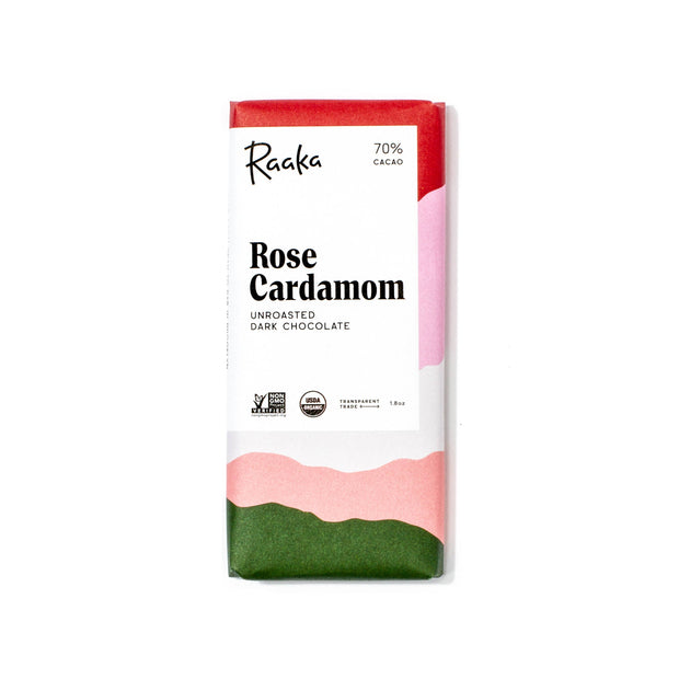 Raaka Chocolate - Rose Cardamom Limited Batch
