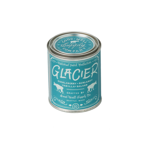 Good & Well Supply Co. - Glacier Candle - Huckleberry Bergamot & Vanilla
