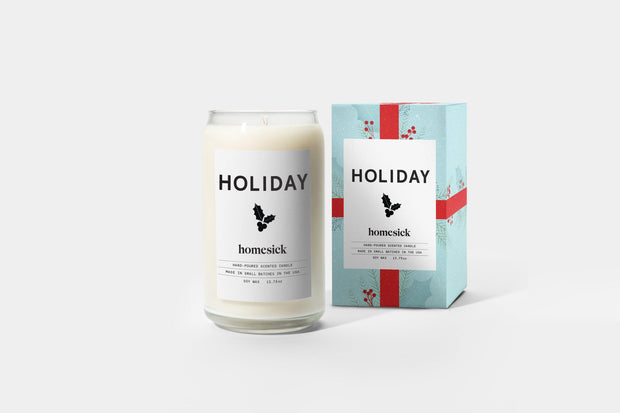 Homesick Candles: Holiday Candle