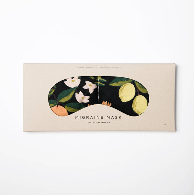 Slow North: Eye Mask Therapy Pack - Citrus Floral